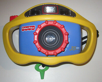 Fisher Price Perfect Shot 35mm My First Built Tough Camera w/ Flash