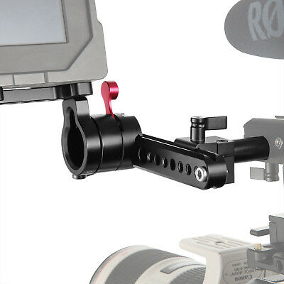"SmallRig 360 degree Rotating 1/4"" Thread EVF Mount Holder with 15mm Rod - 1587B"