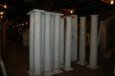 Antique Large Wood Columns 6 Available  From Mount De Chantal Wheeling