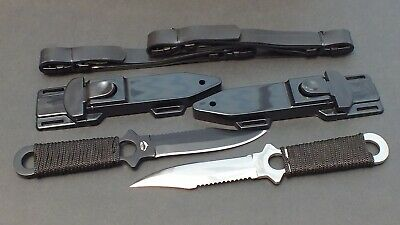 2 x Scuba Diving, Snorkelling Spearfishing Outdoor WILCOMP Knives WIL-DK-05SS
