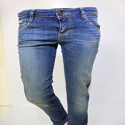 JEANS DONDUP DONNA TG:26 ITA:40 SCONTO REALE 70%.ULTIMO