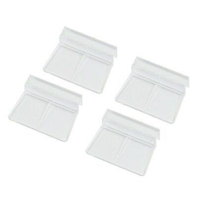 Aquarium Fish Tank Glass Cover Clip Support Holder, 6mm, 4-Pack BF