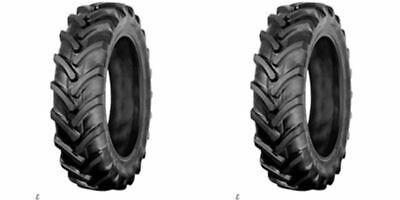 TWO 7-16 7x16 TIRE for Compact Tractor Farm AG  R-1 Lug 6 PLY RATED Heavy Duty