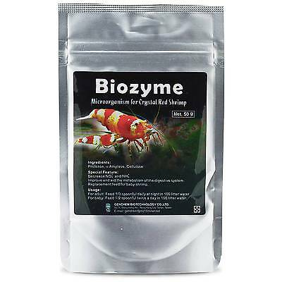 Genchem Biozyme - Conditioner Enzymes Bacteria for Crystal Tiger Cherry Shrimp