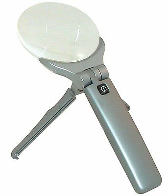 Rite Lite LPL680B 2-LED Handheld/Handsfree Magnifier with Stand
