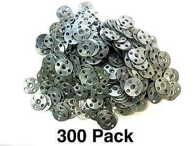 """1-1/4"""" Inch Plaster Zinc Repair Washers Ceiling Buttons (300 pieces)"""