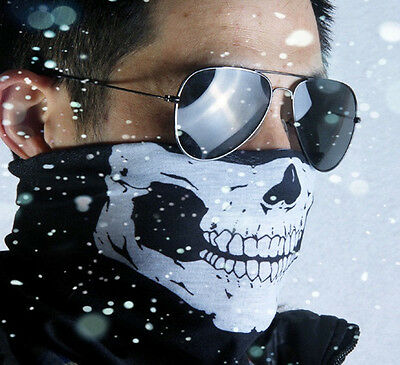 Skeleton Ghost Skull Face Mask Biker Balaclava Call of Duty COD Costume Game HOT