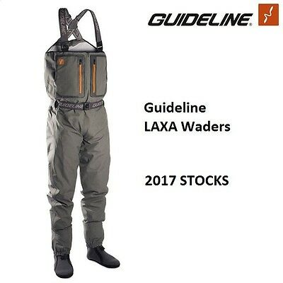 Guideline LAXA Breathable Chest Waders * 2016 Stocks *