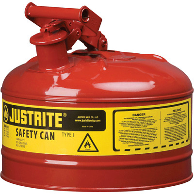 Justrite 7110100 1-Gallon Safety Can