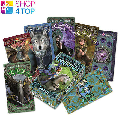 Anne Stokes Legends Tarot Deck Cards Divination Esoteric Telling Fournier New