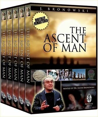 The Ascent of Man (DVD, 2007, 5-Disc Set)
