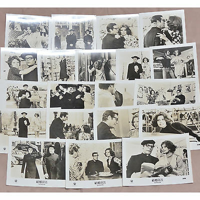 "Lot of (20) The Priest's Wife 1971 Vintage Italian Movie Still 5 x 3.5"" Photos"