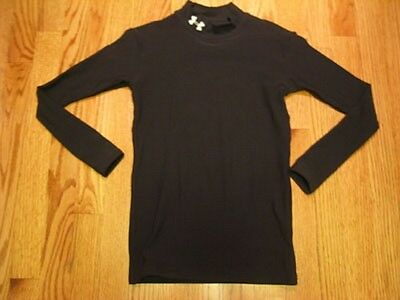 UNDER ARMOUR ColdGear Mock Turtleneck SHIRT Youth Small Medium Large YSM YMD YLG