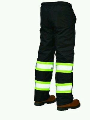 High Visibility Winter Work Pants 2XL
