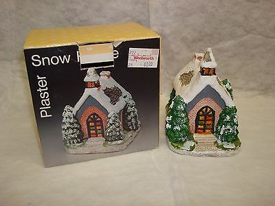 Snow House Church Village Building Woolworth Co. Plaster