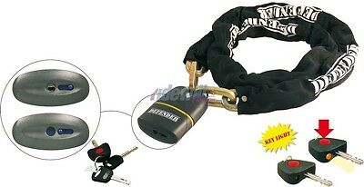 RMS DEFENDER 2 Chain with padlock