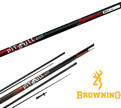 Browning Pit Bull 600 6m Margin Coarse Pole Elasticated Top Kits