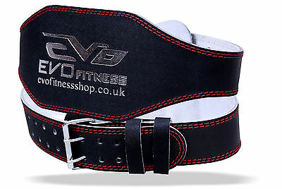 EVO 15.2cm 10.2cm Cuir Pur Gym Ceinture Haltérophilie Support De Dos Sangle