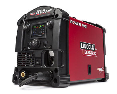 Lincoln Power Mig 210MP Multi-Process Welder Aluminum ONE-PAK K4195-1