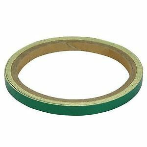 Bike It Wheel & Motorcycle Reflective Stripes 7mm Green BC3034 - T