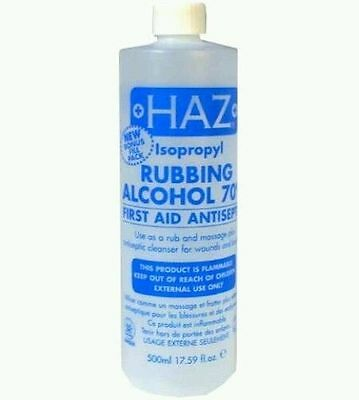 Haz Isopropyl Rubbing Alcohol 70% & 50% 500ml