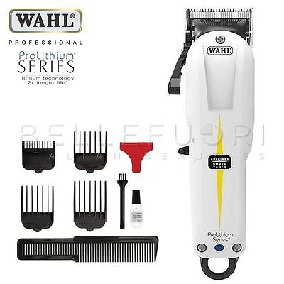 Wahl Tosatrice Ricaricabile Per Capelli Prolithium Series Cordless Taper