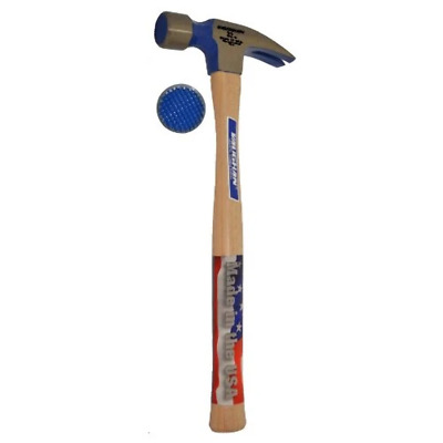 "Vaughan 707M 32 oz. Milled Face Framing Hammer (with 18"" Handle)"