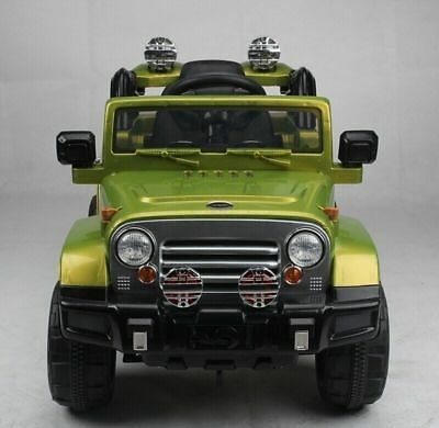Kids Ride On Car Toy Wrangler Jeep Electric 12V Battery Parental Control Car