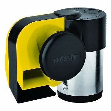 Flosser (Made In Italy) 620Hz- 515Hz Chrome Compact Two Tone Air Horn 10102506