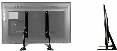 """Universal Table Top TV Stand/Base for 37"""" - 70"""" Flat-Screen TVs / """"Stance"""""""