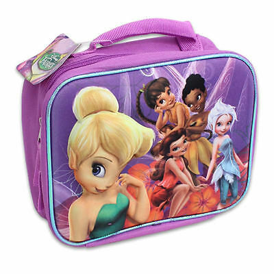 Lunch Bag Insulated Pop Out 3D Disney Tinkerbell Fairy Violet New