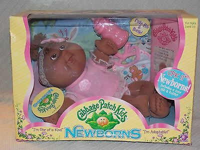 NIB Cabbage Patch Kids Newborns GRACE KYRA June 16th 2007