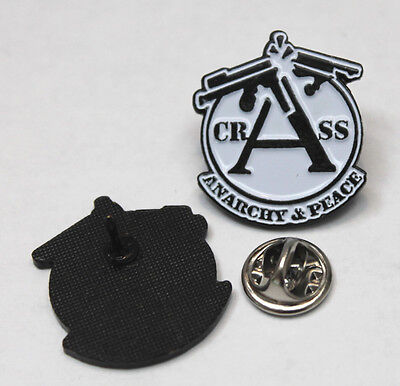 Crass Anarchy & Peace Pin (Mba 552 )