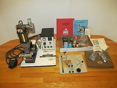Howard Pneumatic Personalizer Hot Stamping System Model JP with many extras!