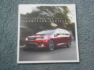 2017 Chrysler Pacifica Minivan Sales Brochure Naias Detroit Auto Show Oem
