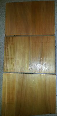 KAURI PINE,FIJI.3xShort Wide Stock Boards.Resaw,Details,Cabinet,Panels,Sides,Box