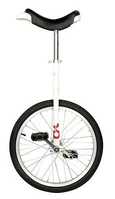 QU-AX Unicycle onlyone 20 white 19790 with aluminum rim