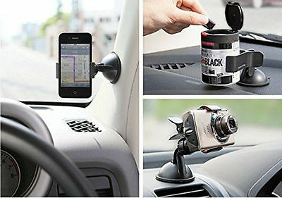 Universal 360°Rotation Car Windshield Mount Stand Holder For GPS Cell Phone ~OK