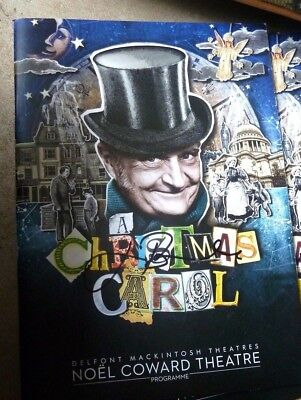 Jim Broadbent Signed A Christmas Carol Theatre Programme 100% Genuine