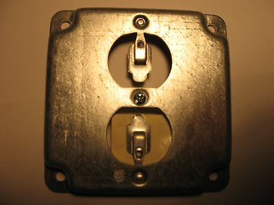 Steel City, Rs12 ,4S , Duplex Receptacle ,Surface Mount