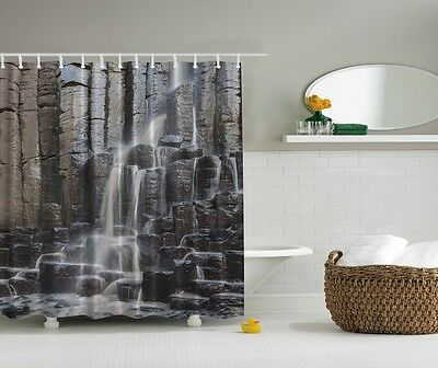 Guitar Ink Painting Musical instruments Bathroom Fabric Shower Curtain 71Inches