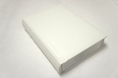 Professional 5x7 ivory silver edged Wedding Album -60 photo(Engraving Available)