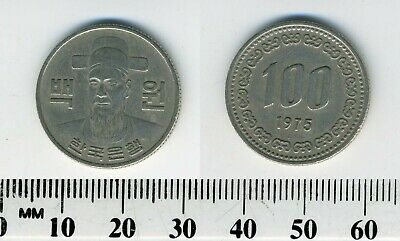 South Korea 1975 - 100 Won Copper-Nickel Coin