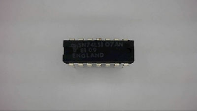 TEXAS INSTRUMENTS SN74LS107AN 14-Pin Dip Flip Flop IC 74LS04 New Quantity-10