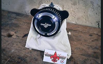 Filtre A Air Dragon Choppers Slotted Harley Sportster 1993-2016