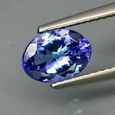 Magnificent  Oval *Tanzanite* Loose Gemstone 6.5 Carats Large 10 x 8 mm