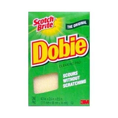 Scotch-Brite Dobie Cleaning Pad Household Needs Multi Function No Scratch 1ct