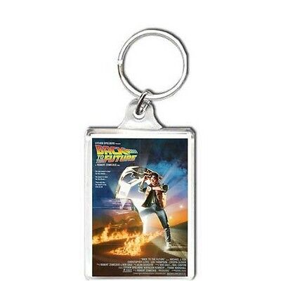 1985 Film back to the future KEYRING KEYCHAIN LLAVERO