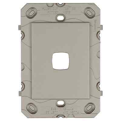 HPM Arteor 1 Gang Light Switch Grid Only with Screws – Grey or White