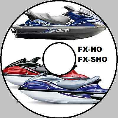 YAMAHA WAVERUNNER FX HO CRUISER FX SHO Service Repair Manual CD